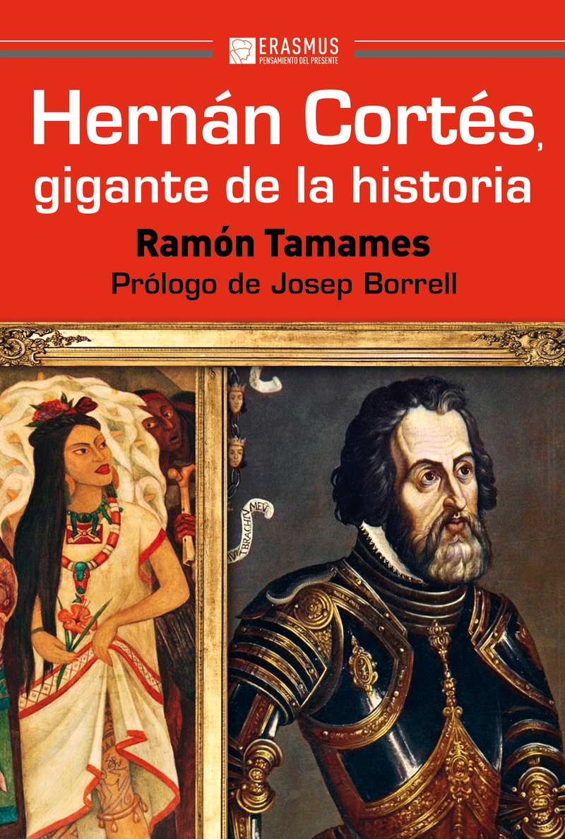 HERNÁN CORTÉS, GIGANTE DE LA HISTORIA: portada