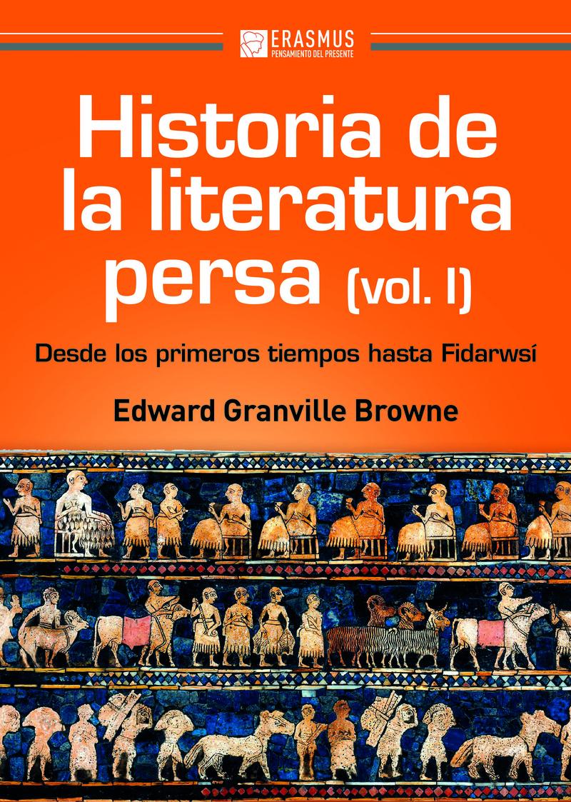 HISTORIA DE LA LITERATURA PERSA (Volumen I): portada