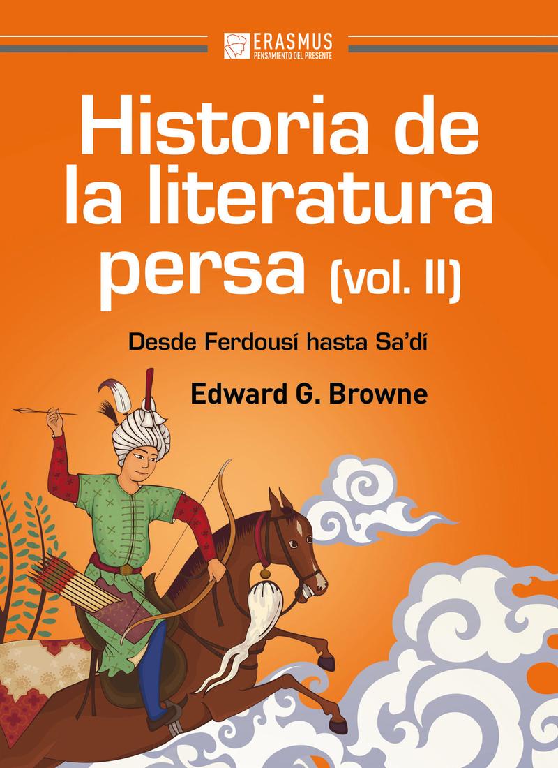 HISTORIA DE LA LITERATURA PERSA (Volumen II): portada