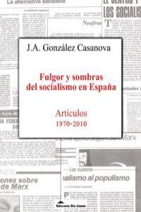 FULGOR Y SOMBRAS DEL SOCIALISMO EN ESPAÑA: portada