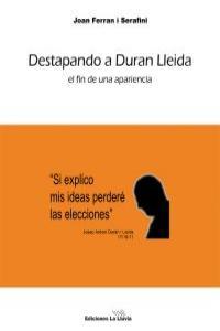 DESTAPANDO A DURAN LLEIDA: portada
