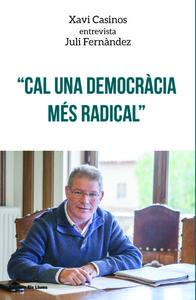 Cal una democràcia més radical: portada