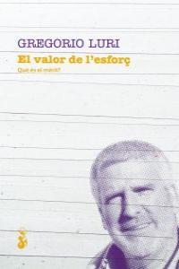 EL VALOR DE L'ESFORÇ: portada