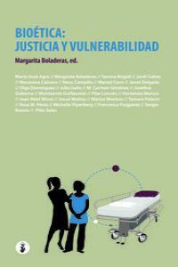 Bioética: justicia y vulnerabilidad: portada