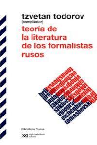 TEORíA DE LA LITERATURA DE LOS FORMALISTAS RUSOS: portada