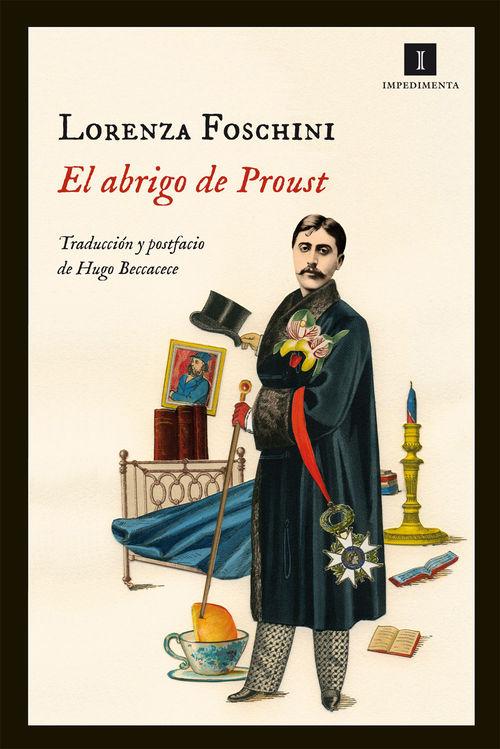 El abrigo de Proust: portada