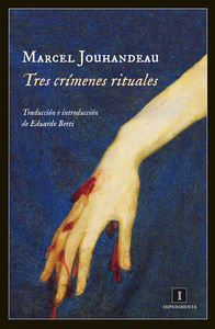 Tres crímenes rituales: portada