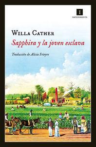 Sapphira y la joven esclava: portada