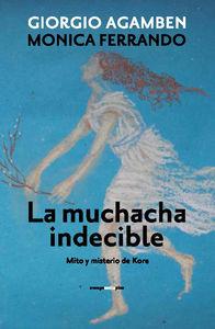 La muchacha indecible: portada