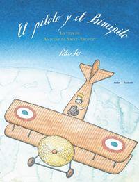El piloto y el Principito: portada