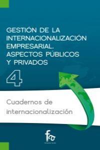GESTI�N DE LA INTERNACIONALIZACI�N EMPRESARIAL.ASPECTOS P�BL: portada