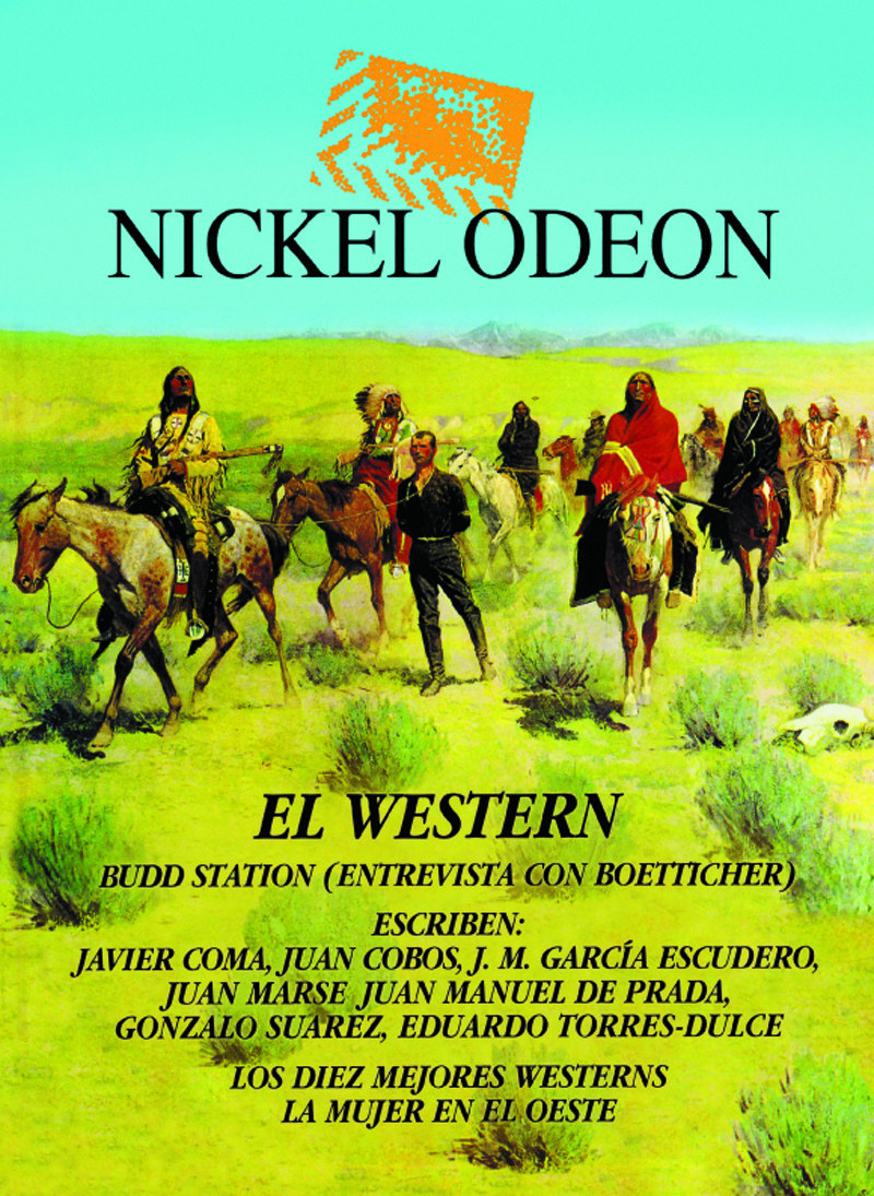 Nickel Odeon: el western: portada
