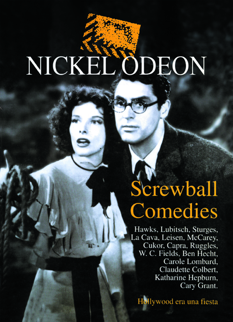 Nickel Odeon: Screwball Comedies: portada