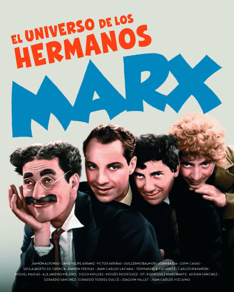EL UNIVERSO DE LOS HERMANOS MARX: portada