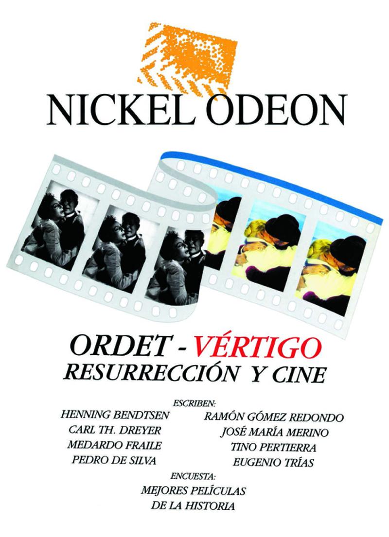 NICKEL ODEON ORDET - VERTIGO: portada