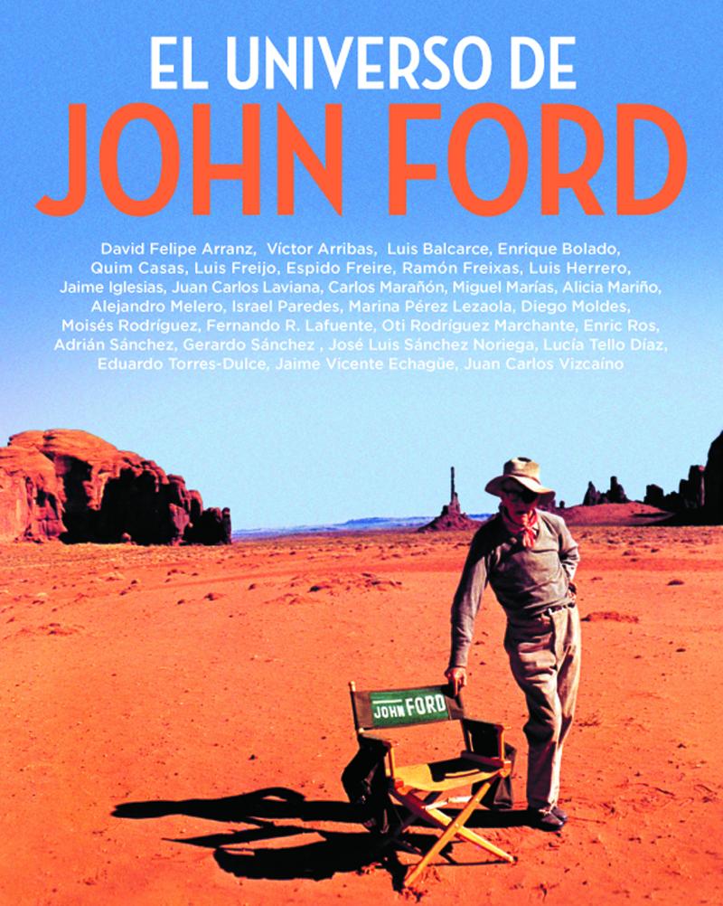 EL UNIVERSO DE JOHN FORD: portada