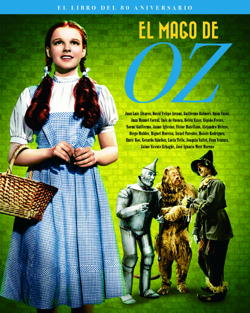 EL MAGO DE OZ. EL LIBRO DEL 80 ANIVERSARIO: portada