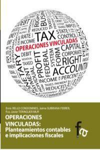OPERACIONES VINCULADAS: PLANTEAMIENTOS CONTABLES E IMPLICACI: portada