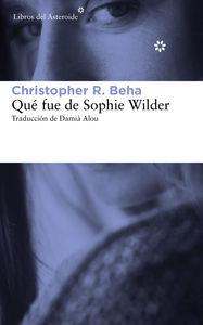 QUÉ FUE DE SOPHIE WILDER: portada
