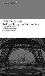 Trilog�a Las grandes familias (�mnibus): portada