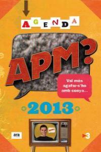 Agenda APM? 2013: portada