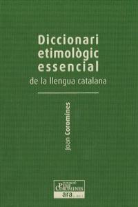 DICC. ETIMOLOGIC ESSENCIAL DE LA LLENGUA CATALANA III: portada