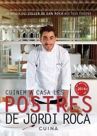 CUINEM A CASA LES POSTRES DE JORDI ROCA: portada