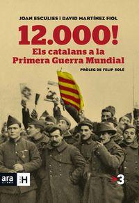 12.000! ELS CATALANS A LA PRIMERA GUERRA MUNDIAL: portada
