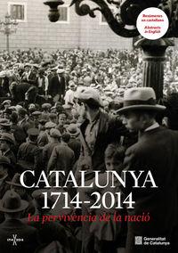 CATALUNYA 1714-2014: portada