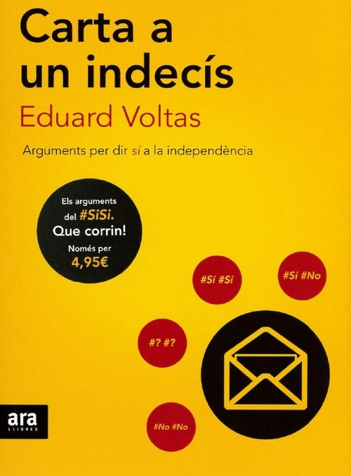 CARTA A UN INDECIS - CAT: portada
