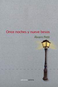 Once noches y nueve besos: portada