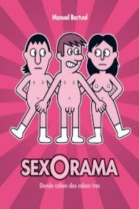 SEXORAMA. Donde caben dos caben tres: portada