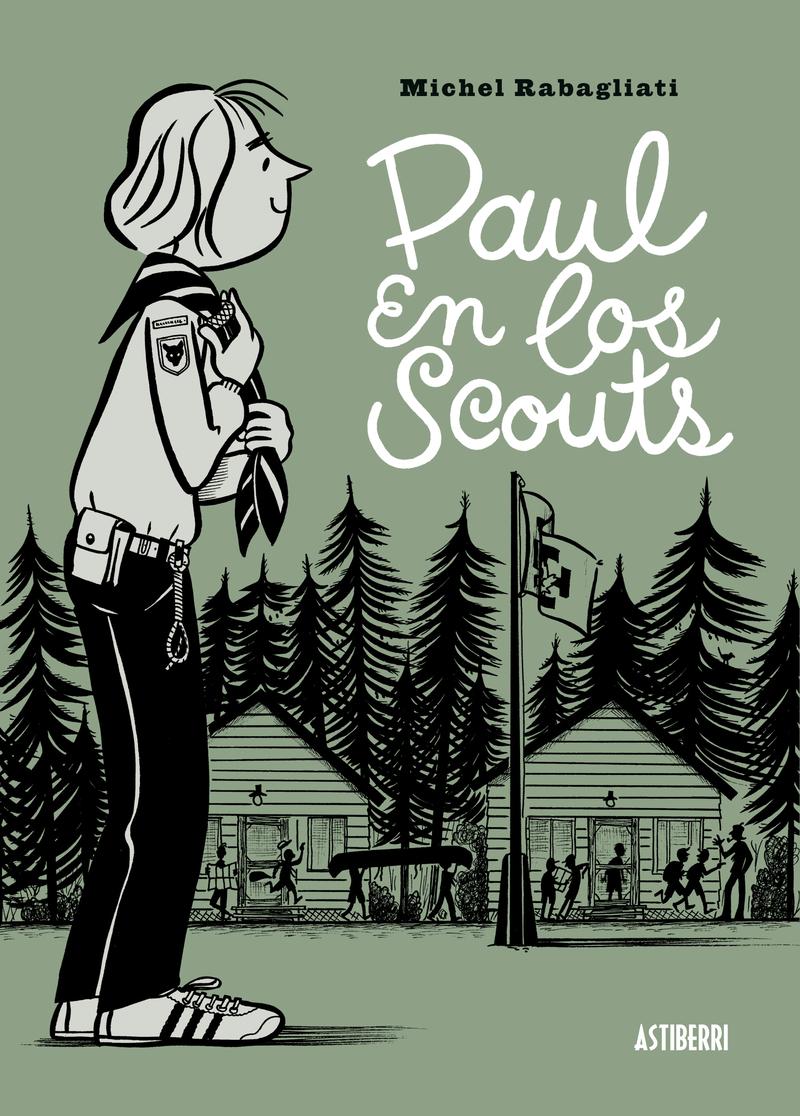PAUL EN LOS SCOUTS: portada