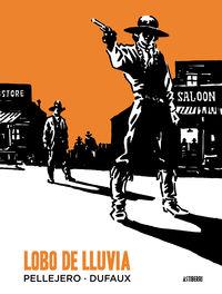 LOBO DE LLUVIA: portada