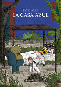 LA CASA AZUL: portada