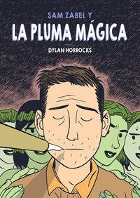 SAM ZABEL Y LA PLUMA MÁGICA: portada