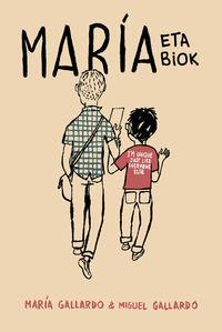 MARÍA ETA BIOK: portada