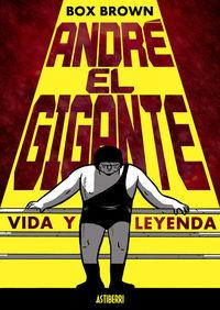 ANDRÉ EL GIGANTE: portada