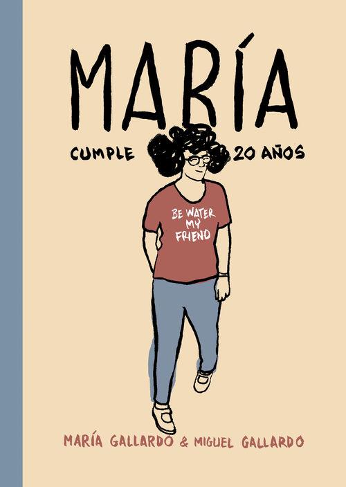 MARÍA CUMPLE 20 AÑOS: portada
