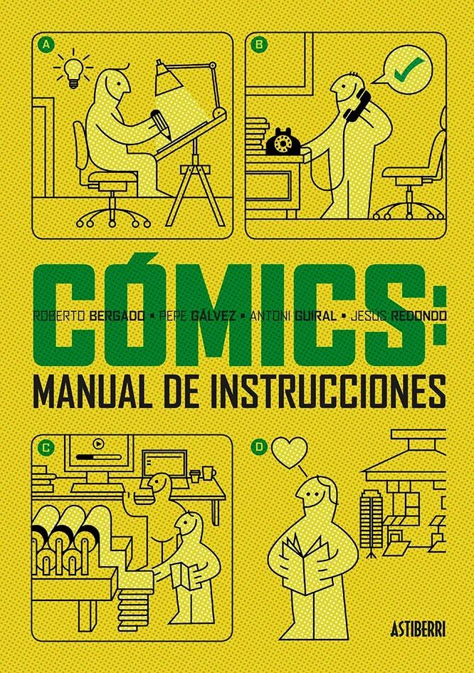 CóMICS: MANUAL DE INSTRUCCIONES: portada