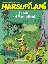 La cola del Marsupilami: portada