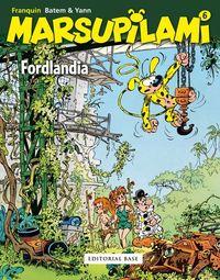 Marsupilami 6 - Fordlandia: portada
