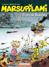 Marsupilami 7 - El oro de Boavista: portada