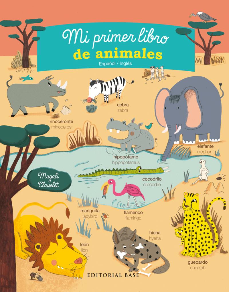 Mi primer libro de animales: portada