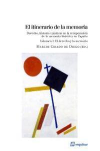 El itinerario de la memoria (Vol. I): portada