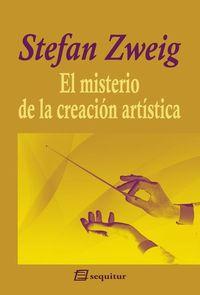 El misterio de la creación artística: portada