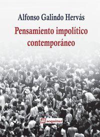 Pensamiento impolítico contemporáneo: portada