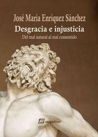 Desgracia e injusticia: portada