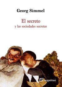 El secreto y las sociedades secretas: portada