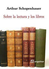 Sobre la lectura y los libros: portada